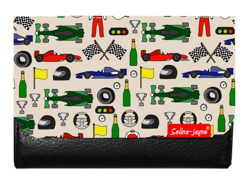 Selina-Jayne Motor Racing Limited Edition Designer Small Purse